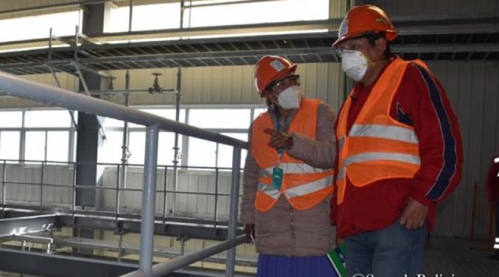 Chiri expresa su preocupación por demora en la construcción de la planta de carbonato de litio
