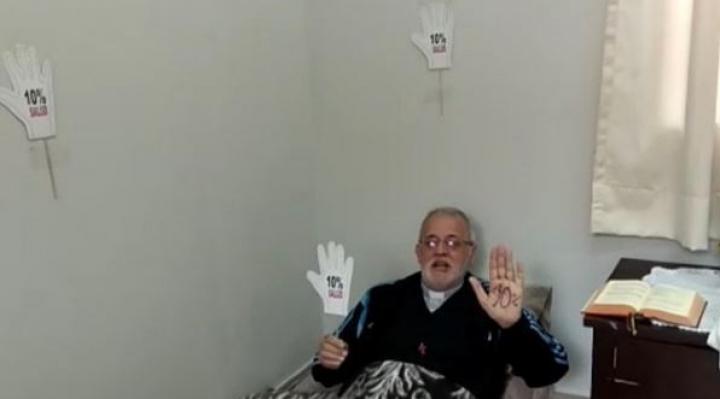 Padre Mateo inicia ayuno en demanda de la Ley del 10% para salud que el Legislativo elude desde febrero