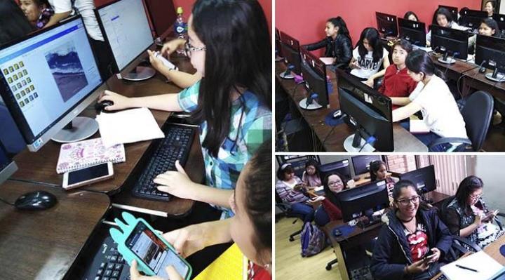Niñas y adolescentes de Bolivia desarrollaron aplicaciones para enfrentar el coronavirus