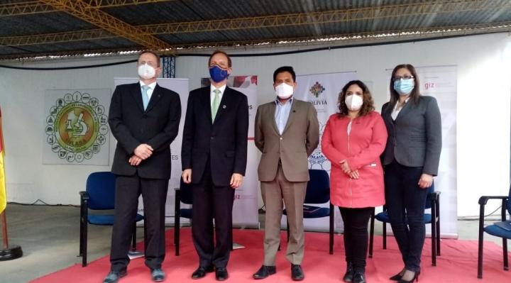 Ministerio de Salud e Inlasa presentan proyecto sobre capacidades de contener la pandemia Covid-19