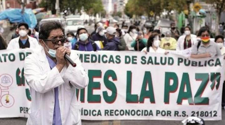Trabajadores de salud dan ultimátum de siete días para abrir la ley de emergencia sanitaria