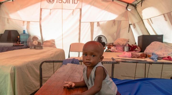 Unicef alerta de más de medio millón de niños y niñas afectados por el terremoto de Haití