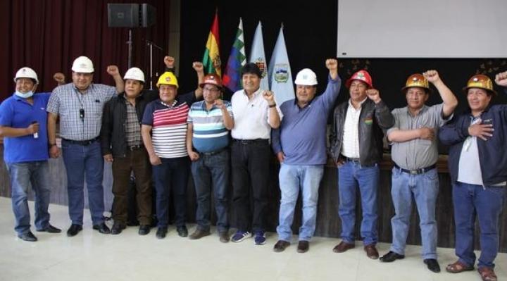 """Nace el """"Estado Mayor del Pueblo para el Pueblo"""", liderado por Morales, que sustituye a la Conalcam"""