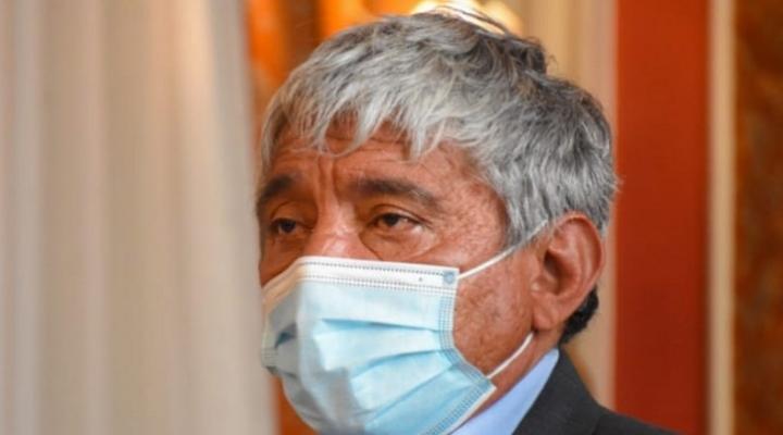 """Arias denuncia que sospechoso de la explosión forma parte de una """"mafia organizada de loteadores"""""""