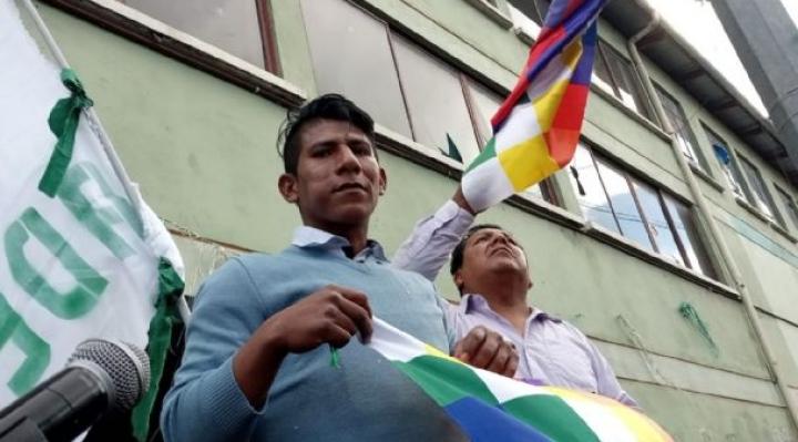 Arnold Alanes afirma que hay intereses económicos y políticos de Cainco y de la Alcaldía de La Paz