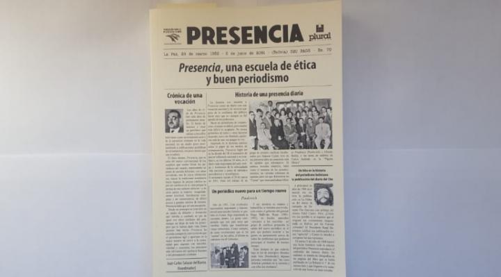 """""""Presencia, una escuela de ética y buen periodismo"""""""