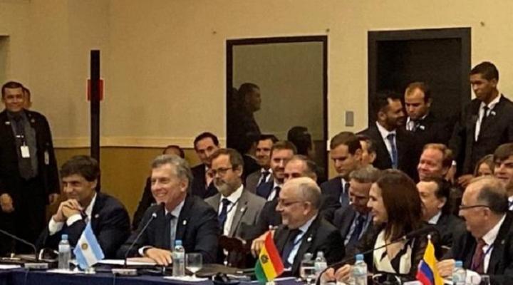 Mercosur: Longaric desacredita a Evo Morales y afirma que no hubo golpe de Estado, Uruguay pide aplicar Cláusula Democrática