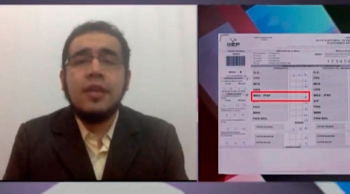 Édgar Villegas, que develó fraude electoral, es uno de los 502 postulantes a vocales del Órgano Electoral