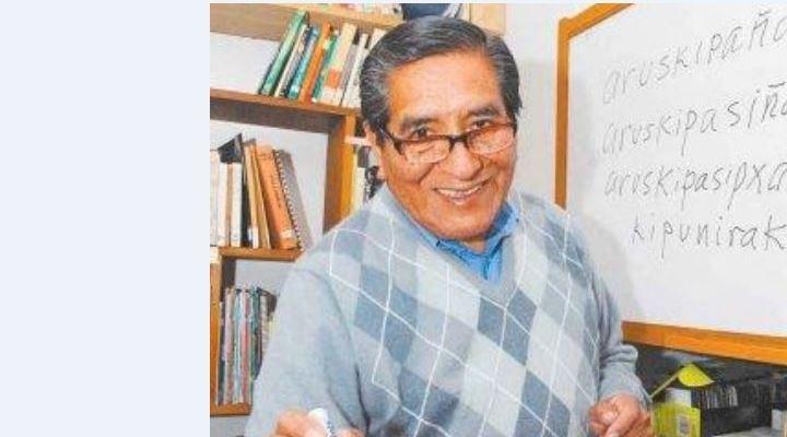 Falleció Juan de Dios Yapita, uno de los impulsores de la enseñanza del aymara