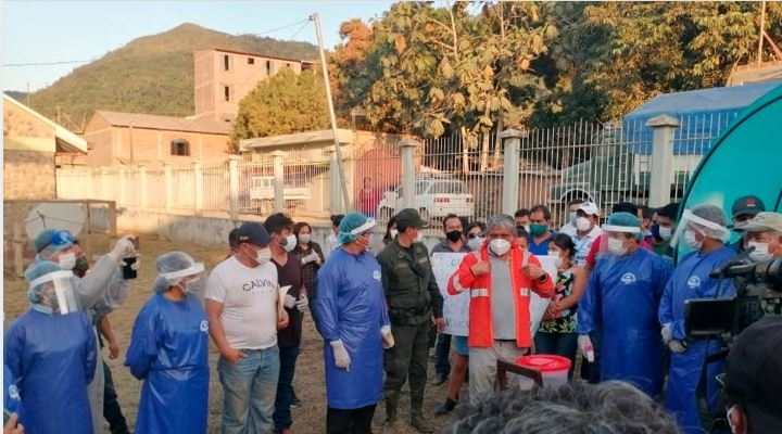 La Paz bate récord de contagios en un día y ya es el tercero con más casos en el país