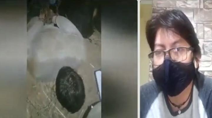 """Víctima de secuestro cuenta su testimonio: """"Me dieron un palazo, me tiraron piedras, me patearon la cara y la cabeza"""""""