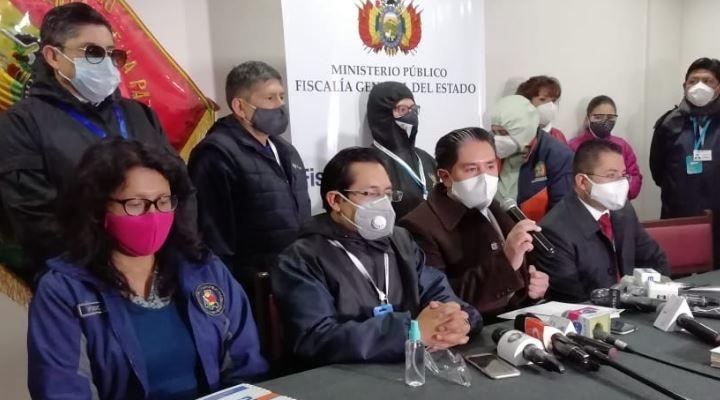 """Fiscalía admite denuncia contra Huarachi, Evo, Arce y Choquehuanca por """"alentar los bloqueos"""""""