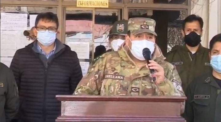 """FFAA advierte """"terrorismo"""" en bloqueo carretero y anuncia que empezó el patrullaje preventivo"""