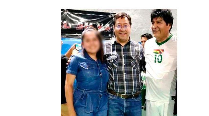 """Arce sobre Noemí: """"La primera vez que la vi fue cuando se me acercó y pidió una fotografía"""""""