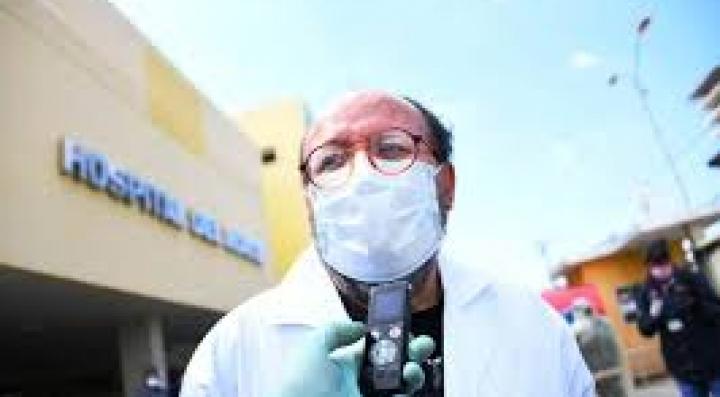 La desescalada de casos de COVID-19 en La Paz empezará en dos semanas, según el SEDES