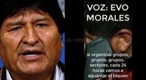Caso audio: La Fiscalía cita a Morales por edicto para que declare en un plazo de 10 días