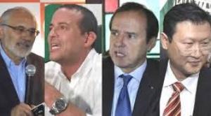 Sólo Mesa destaca la renuncia de Añez, el resto emite críticas