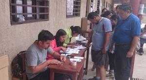 La Paz tiene 1.320 jurados electorales más que en las fallidas elecciones 2019