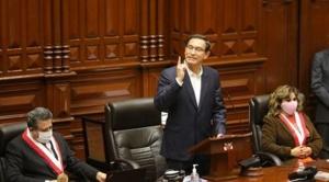El Congreso del Perú rechazó la destitución del presidente Martín Vizcarra 1