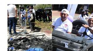 Desalojan a masistas de una plaza en Cochabamba y Camacho y Pumari no usan barbijos