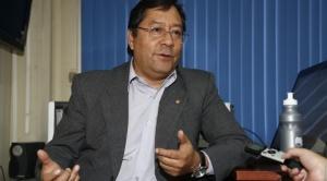 """Arce advierte que Morales """"debe resolver sus temas pendientes en los estamentos judiciales"""""""