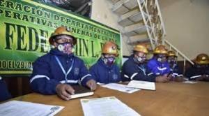 Mineros cooperativistas retiran respaldo a Pan-Bol por excluirlos de la lista de candidatos