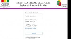 TSE habilita plataforma virtual para presentar excusas de jurados electorales hasta el 27 de septiembre