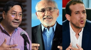 Analistas advierten que si la dispersión del voto se mantiene, beneficiará al MAS