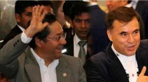 De ser elegido, Arce promete dar salvoconductos a exministros asilados en residencia mexicana