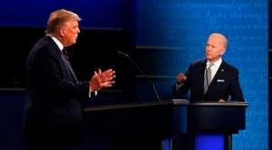 """En primer y tenso debate, Trump dice que habrá """"fraude"""" y Biden le dijo que """"difícil hablar con este payaso"""""""