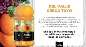Embol y Coca-Cola lanzan el nuevo empaque de dos litros de su marca icónica, Del Valle