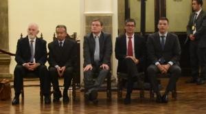 Los cuatro directores del Banco Central renunciaron a sus cargos 1