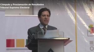 El TSE proclama como presidente a Luis Arce y como vicepresidente a David Choquehuanca 1