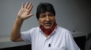 Morales anuncia que su llegada se definirá a fin del mes de octubre 1
