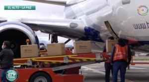 Gobierno recibe 40.000 pruebas de antígeno nasal y entrega a Santa Cruz y lo hará a La Paz