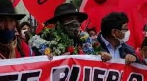 Falleció Felipe Quispe Huanca, El Mallku 1