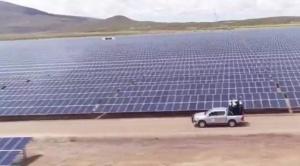 Inauguran en Oruro planta solar fotovoltaica más grande del país