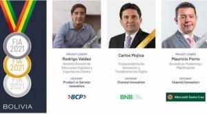 Fintech América 2021 otorgó el primer lugar y Premio Platino al BCP en innovación