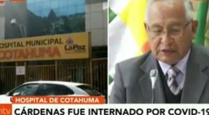 Alcaldía rechaza pedido de Fiscalía y no entregará historial médico de Víctor Hugo Cárdenas