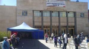 Arias anuncia vacunación masiva en municipio de La Paz