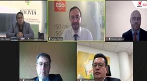 La ISO aplaude alianza de Ibnorca y la cooperación sueca para impulsar normalización en Bolivia