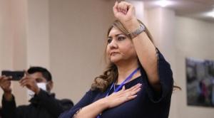 """Silvia Gallegos: """"No voy a renunciar, será el presidente Luis Arce quien tome la decisión"""""""