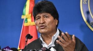 """Morales afirma que """"cumbre de la tierra"""" en Santa Cruz busca enfrentar a bolivianos"""