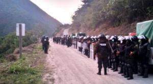 Policía reporta un efectivo muerto y un herido en enfrentamiento  con cocaleros