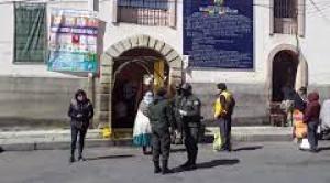 La FELCC levanta un cadáver en la cárcel de San Pedro