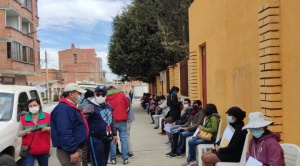 Eva Copa: Jornada masiva de vacunación en El Alto sobrepasó las expectativas