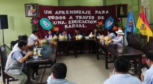 Unicef destaca programa de educación radial en el trópico de Cochabamba