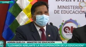"""Denunciado por viceministra, Quelca se declara """"comprometido"""" con el """"proceso de cambio"""""""
