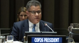 Presidente de la Cumbre Mundial sobre el Cambio Climático COP26 visita Bolivia