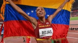 Yulimar Rojas, la venezolana que soñaba con ser atleta y se convirtió en campeona olímpica batiendo récords